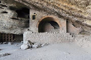 Grotto Golitsyn, Novyi Svit, republic Crimea