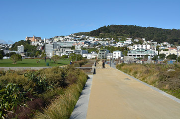 Wellington New Zealand cityscape