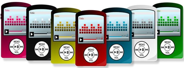 Reproductor de música y vídeo