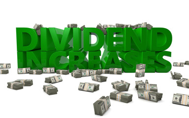 Dividend Increases Finance Stocks Investment