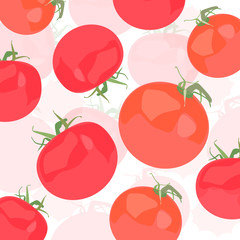 Tomatoes vector background