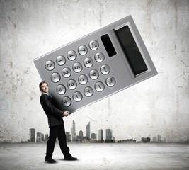 Man accountant
