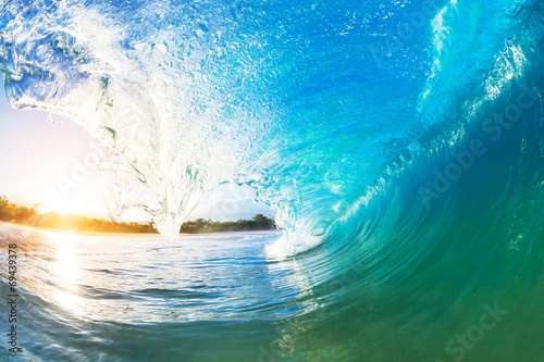 Canvas Zee / Oceaan Ocean Wave