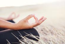 "Постер, картина, фотообои ""Yoga Woman Meditation"""