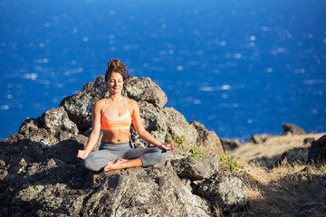 Yoga Woman Meditation