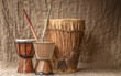 tree djembe drums - 69441730