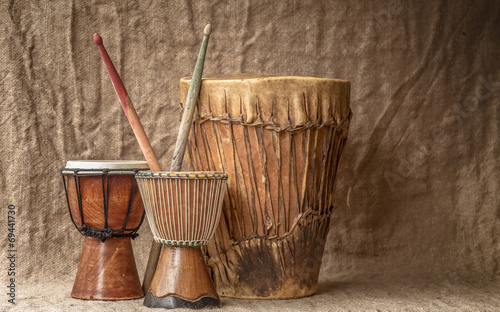 tree djembe drums