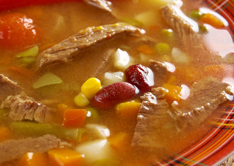 spicy Mexican soup