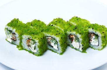 Roll made caviar