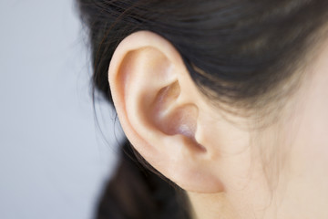 Ear of  women