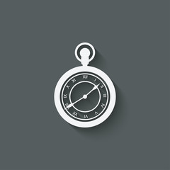 Pocket watch design element