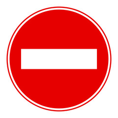 road sign icon on isolated BG