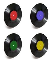 разноцветные пластинки