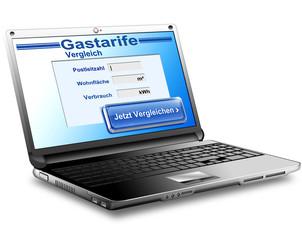 Gastarife online vergleichen, freigestellt