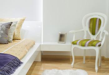 Classic chair apartment interior