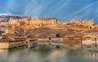 View of Amber fort, Jaipur, India