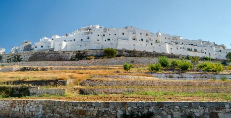 Ostuni, Puglia, white houses
