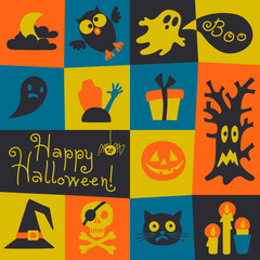 Happy Halloween card.