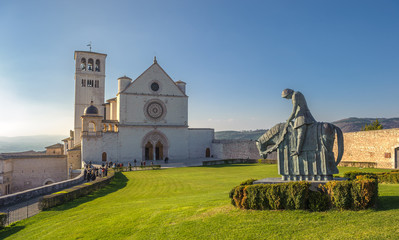 Basilica of San Francesco d'Assisi, Assisi, Italy
