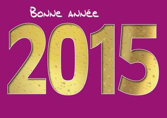 2015 Champagne Bonne annee