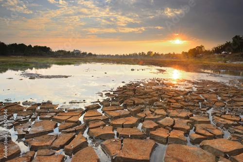 Drought drought land