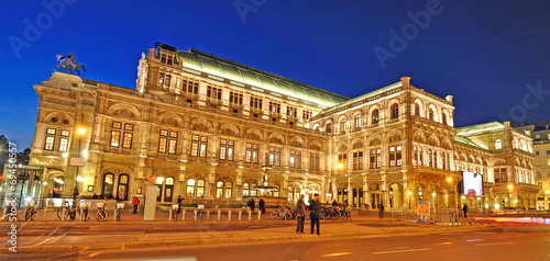 canvas print picture oper wien