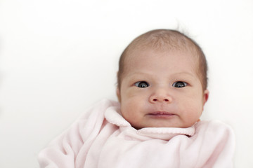 portrait of baby 1 week