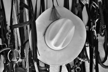 Cowboyhut am Nagel