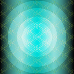 Blue technology grid circle background