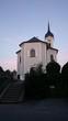 canvas print picture - Kirche im Chiemgau