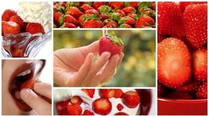 strawberries montage