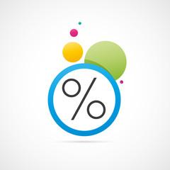 soldes- pourcentage