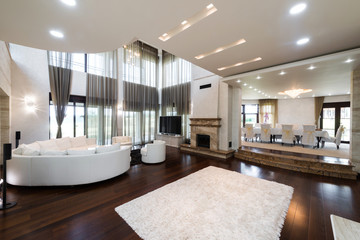 comfortable living room interior