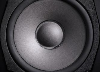 Closeup Audio speaker