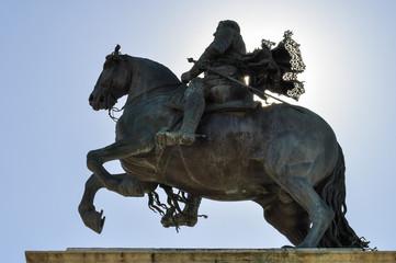 Equestrian statue of Felipe IV