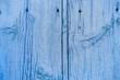 Holz in blau als Hintergrund