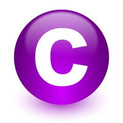 copyright internet icon