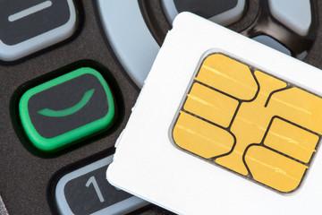 Cellular phone and sim card