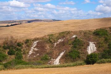 Toscana - Erdformation bei Volterra