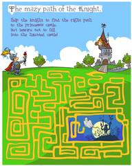 Fairytale children's Maze game