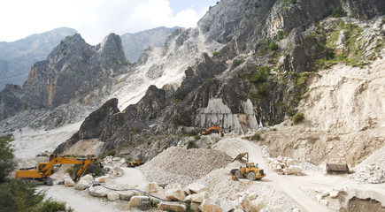 The Marble Quarries. Apuan Alps, Italy