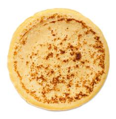 pancake isolated over white background