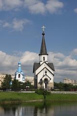 Церковь Святого Георгия Победоносца парк Городов-Героев