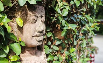 cambodia style statue