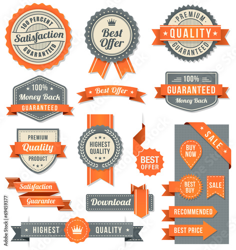vector web design banners and elements - 69459377