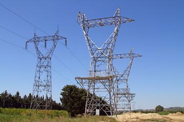 Lignes électriques neuves