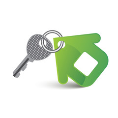 key and house (rental and sale of property)
