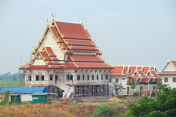 Temple at Buddha Uttayarn Maharach Project