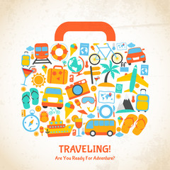 Travel suitcase concept