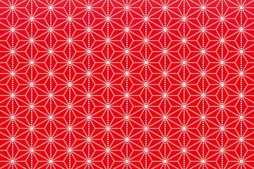 背景素材壁紙(和風, 麻の葉の紋様, 日本風, )